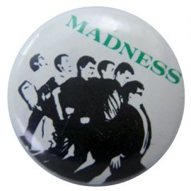 Madness - 'One Step Beyond (Green)' Button Badge